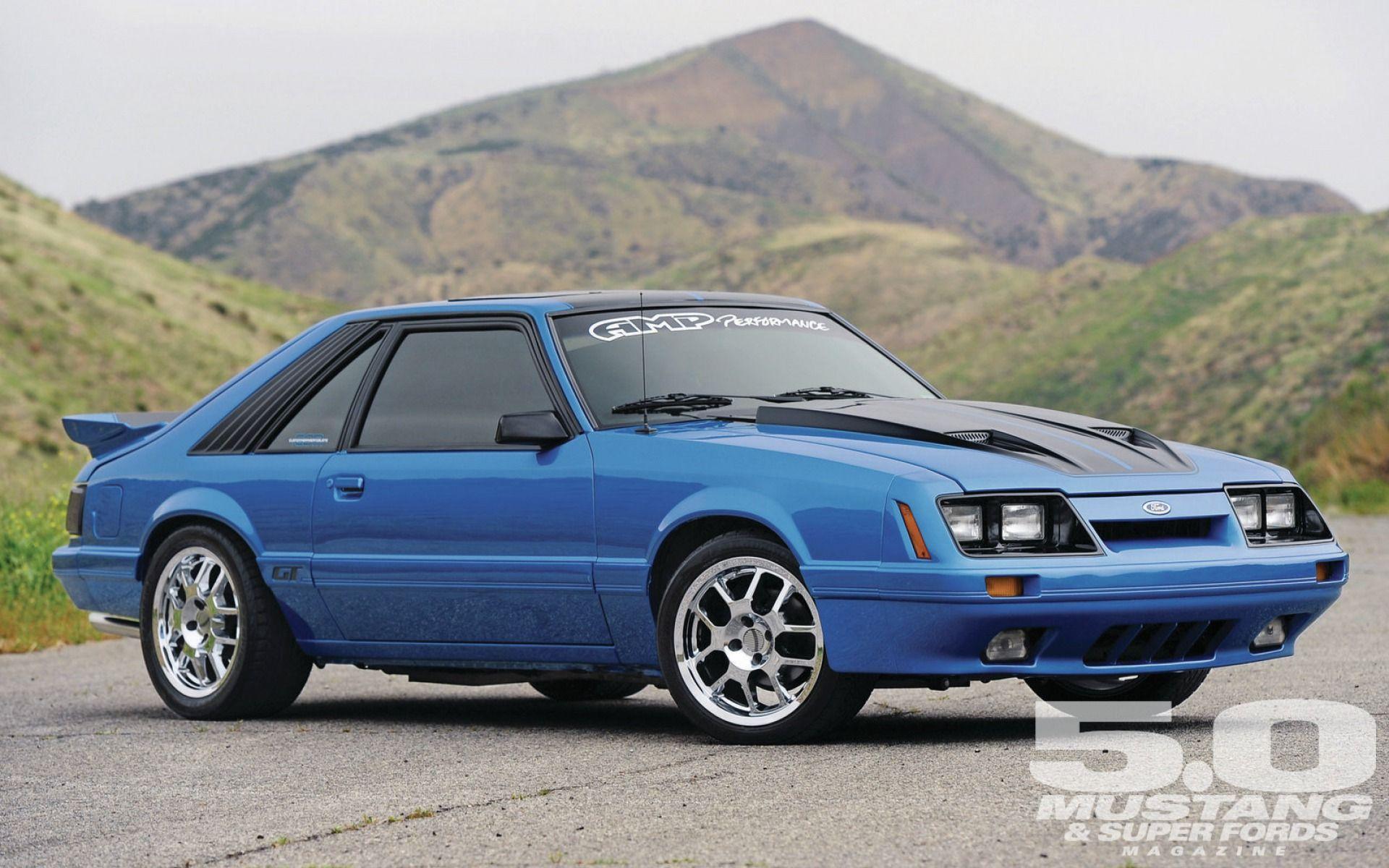 1986 ford mustang gt ford mustang azul llantas cromadas mustang club blue