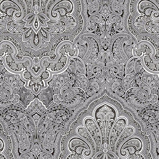 Manhattan Comfort Sunderland Doodle Design Black And White 327 Foot X 205 Inch Wallpaper