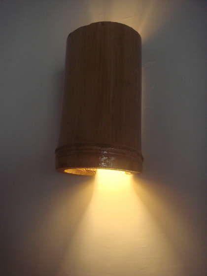 simple bamboo lamp shades  wall  u0026 hang