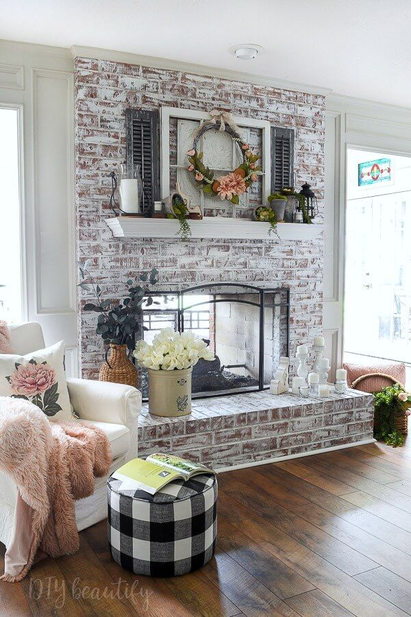Spring Inspired Mantle