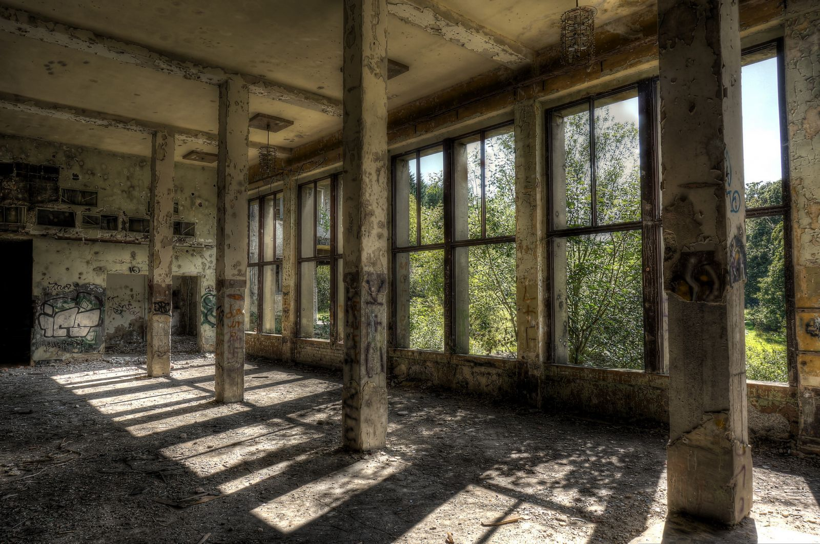 Socialist recreation home in East Germany 2 - Top 11 most haunted abandoned places in Germany