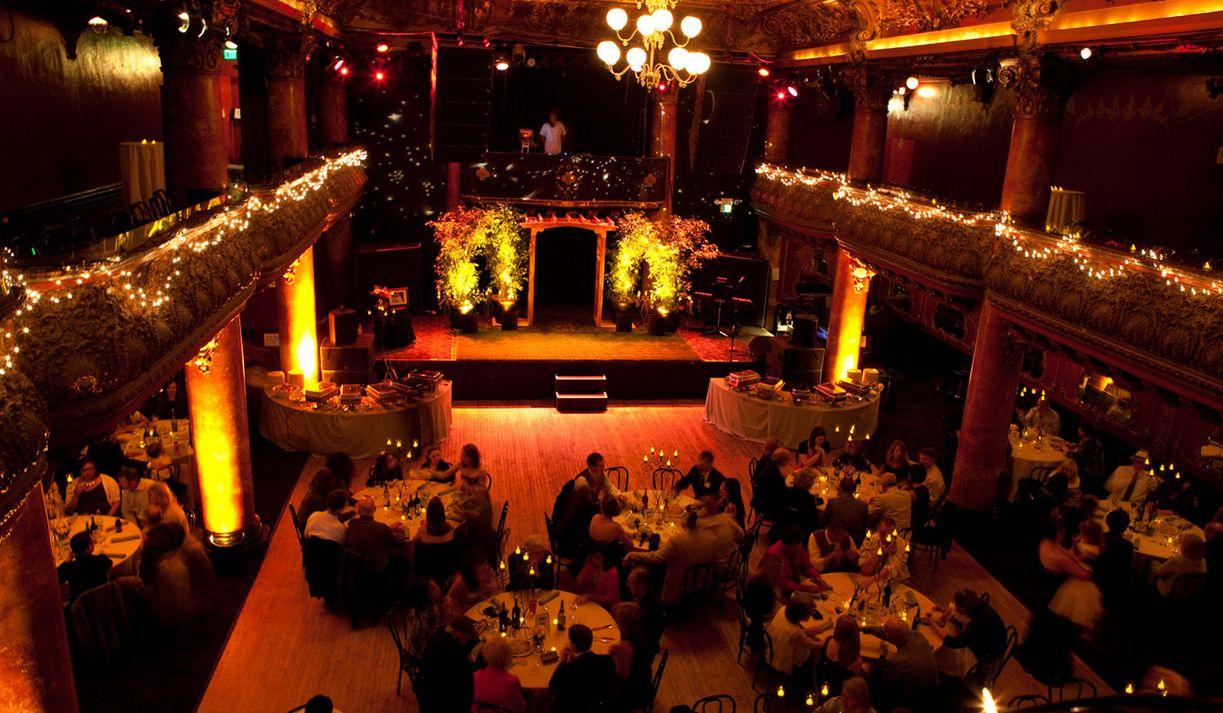 Great American Music Hall San Francisco CA Wedding Venue wedding