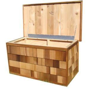 Best Greenstone 4 Ft X 2 Ft Cedar Deck Box Gsacdb At The Home 400 x 300