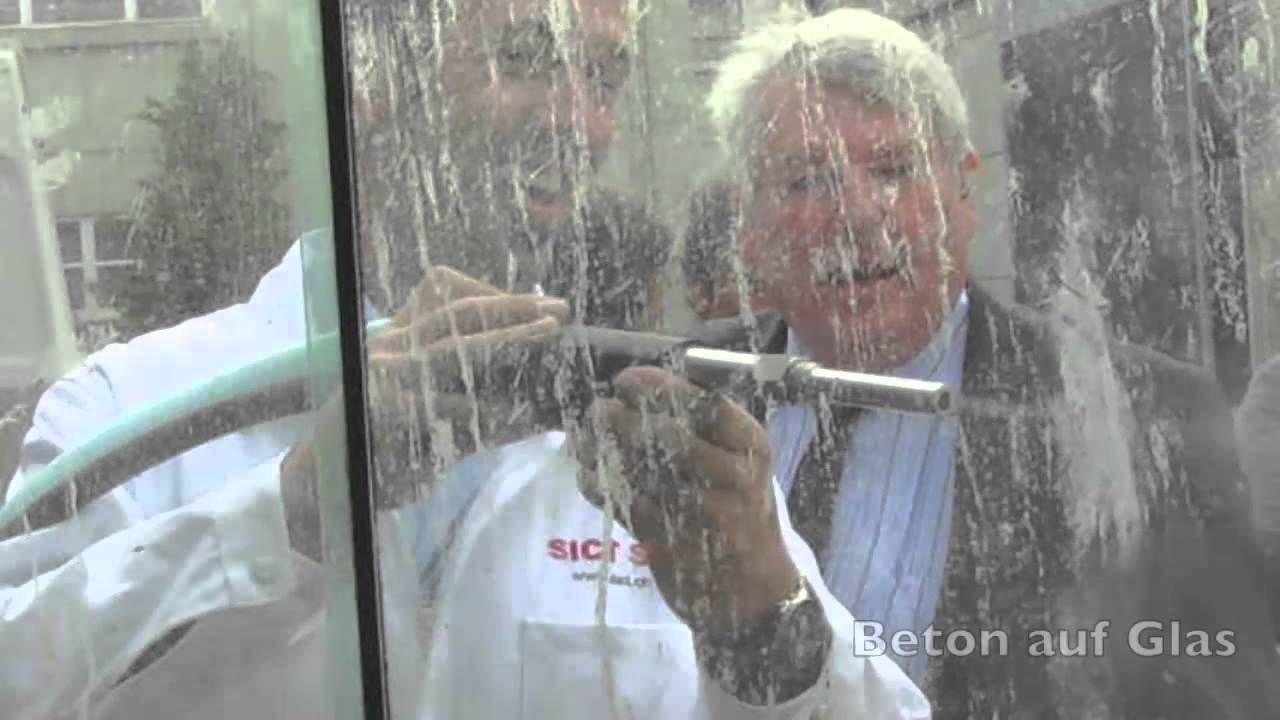 Niederdruck-Strahltechnik > z.B. Beton von Glas entfernen, Beschriftung auf einer Verpackung strahlen uvm....