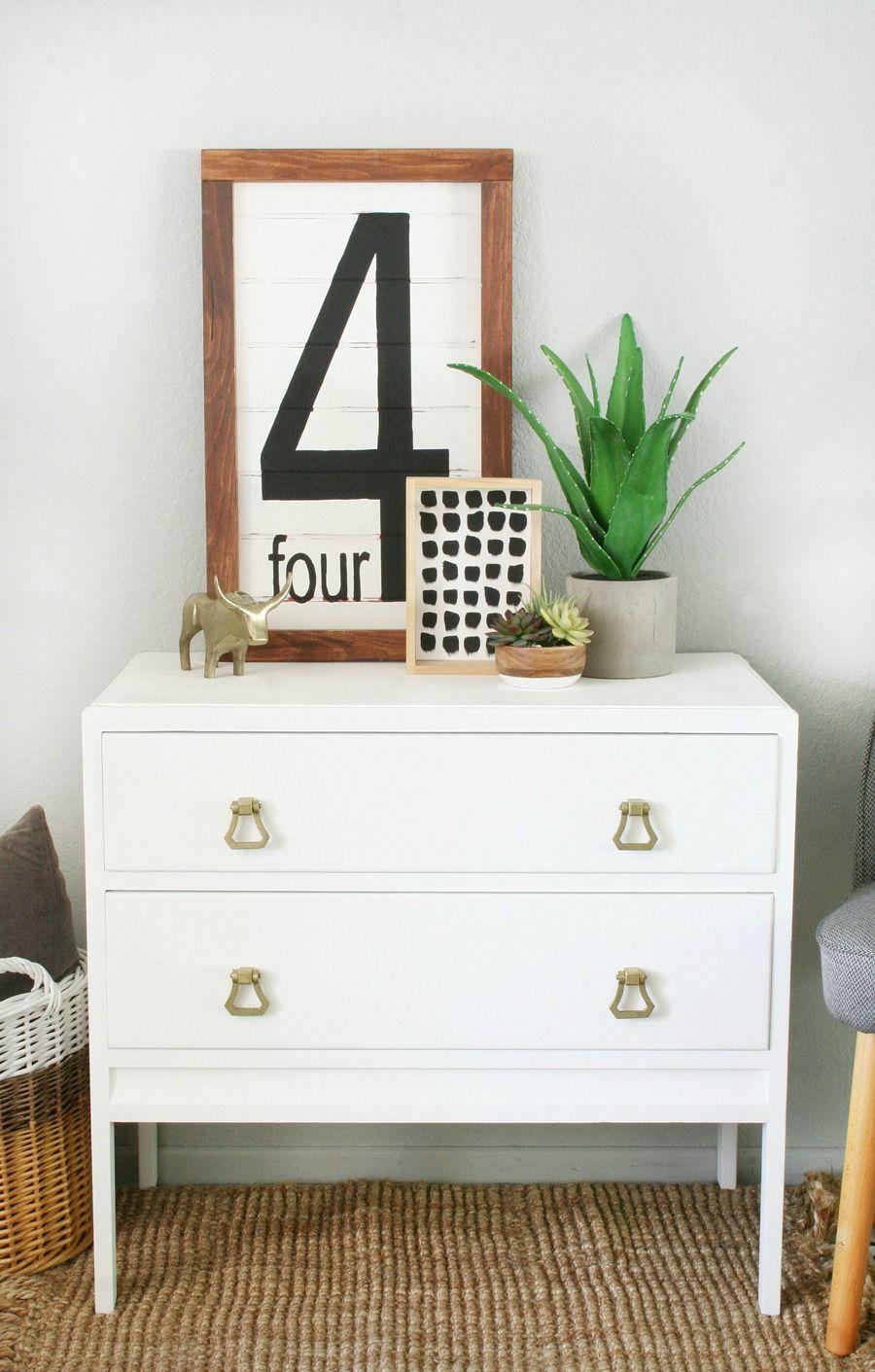 100 DIY Farmhouse Home Decor Ideas | Vintage dressers, Dresser and ...
