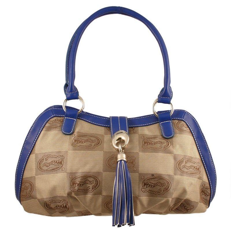 Florida Gators Signature Line Handbag only $48.00 at www.mimiamor.com. #gifts #shopping #handbags #purses #floridagators