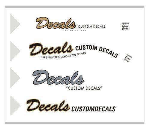 Custom Waterslide Decals Stickers Guitar Headstock Guitar Guitar Parts Telecaster