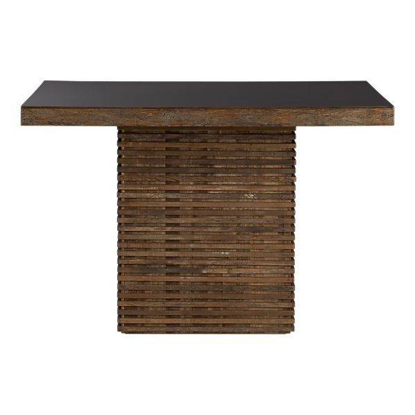 Peroba Wood Dining Table Square Dining Tables Reclaimed Wood