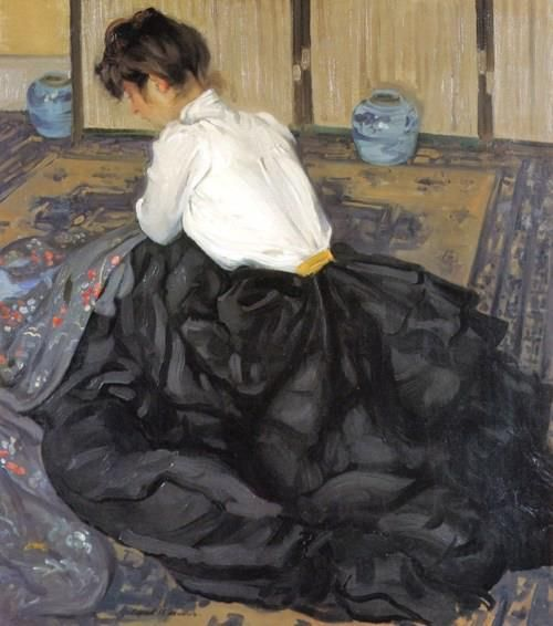 Alfred Henry Maurer, 1901