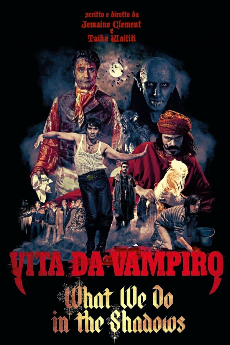 What We Do In The Shadows Hela Pa Natet Dreamfilmer Hd 2014 In