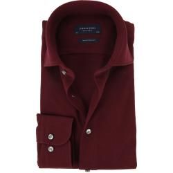 Photo of Profuomo Hemd Knitted Bordeaux Profuomo
