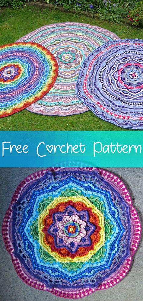Mandala Madness [CROCHET FREE PATTERNS] - Fashion Design | Crochet ...