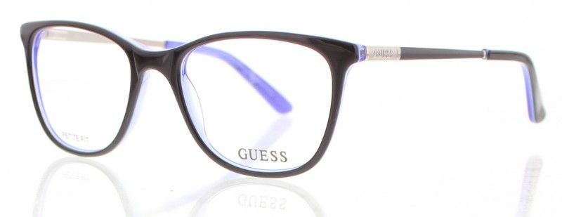 Lunette de vue GUESS GU2566 001 femme - prix 107€ - KelOptic dd7245a0ba30