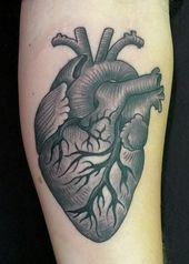 Virginia Elwood Heart Tattoo