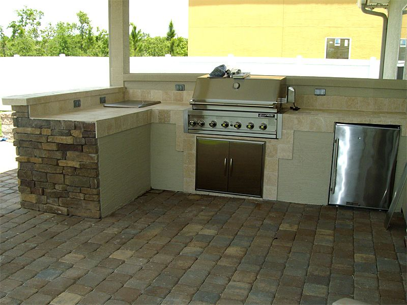 The Walls And Backsplash Ideas Budget Backyard Kitchen Outdoor
