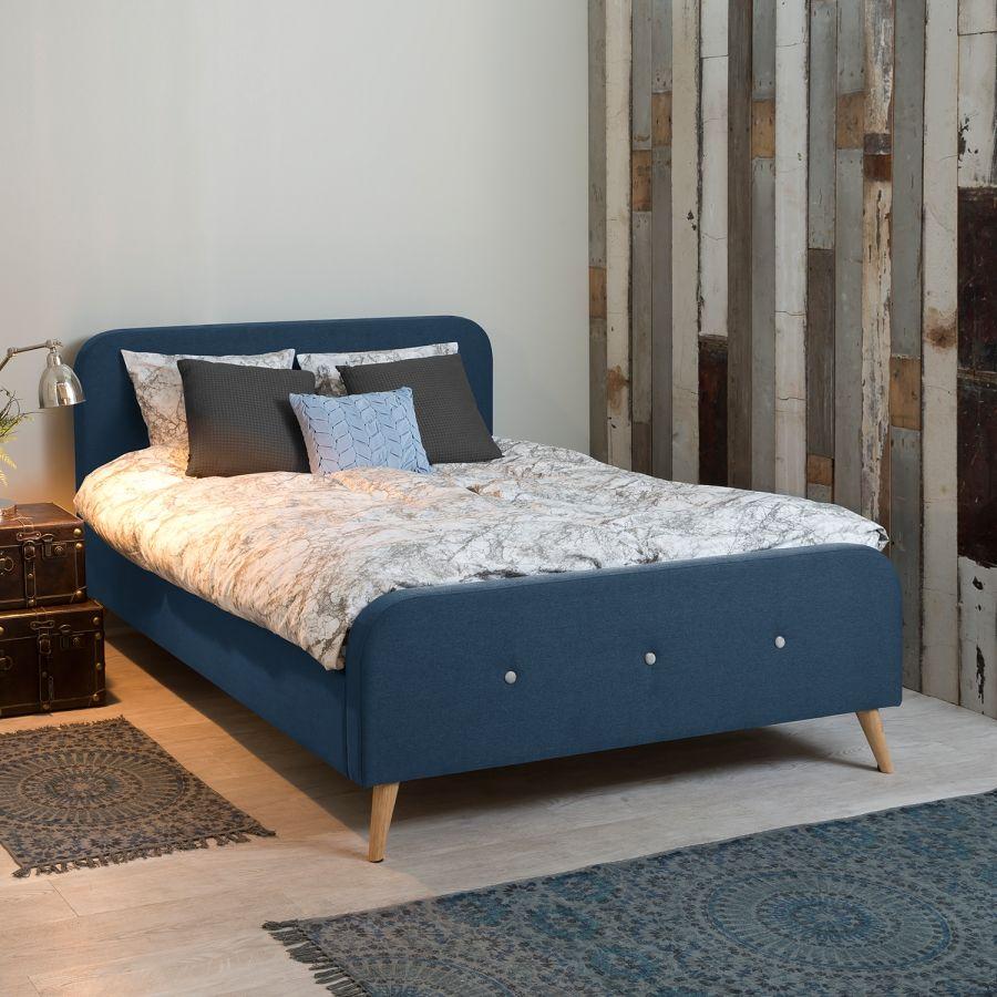 Polsterbett Klink Bettgestell, Haus deko und Bett ideen