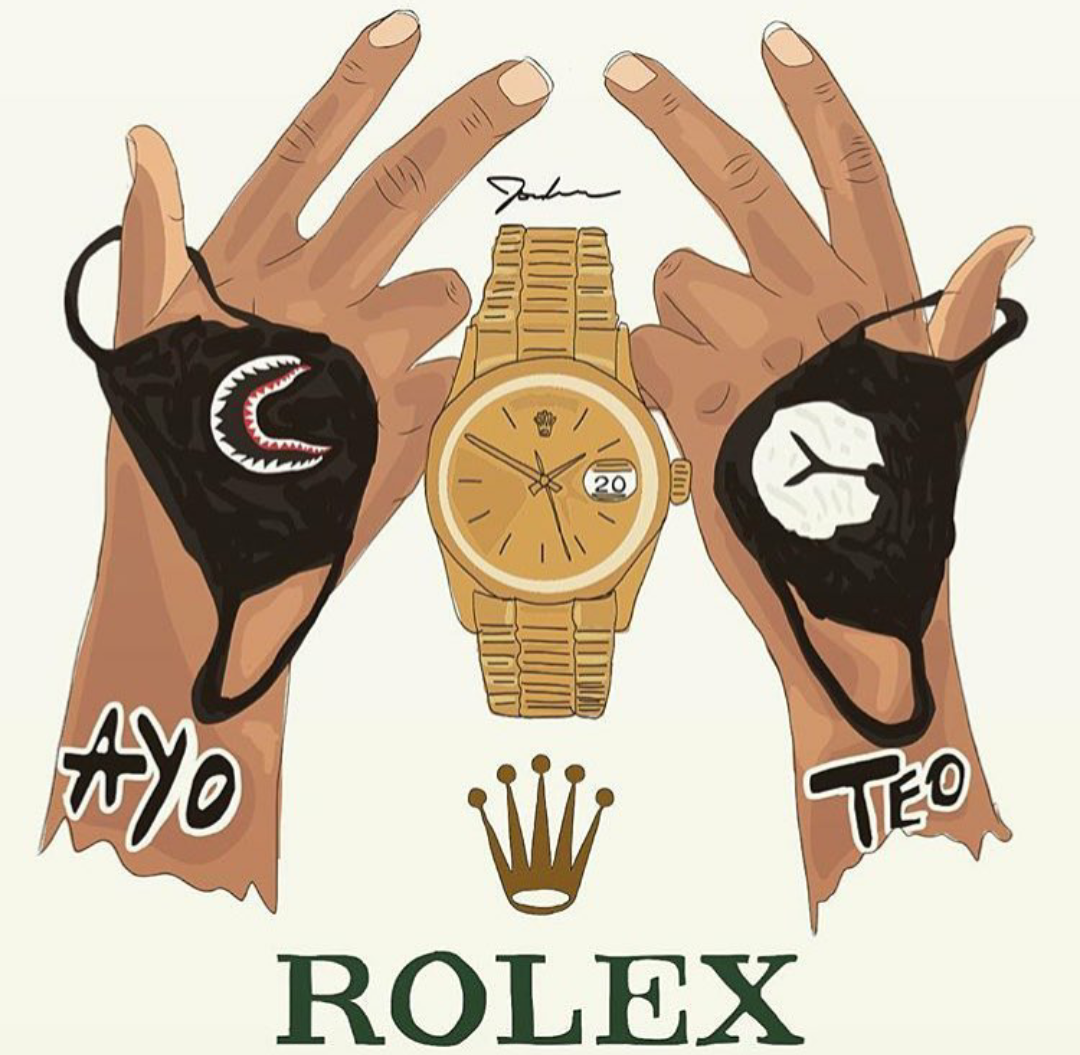 Ayo Teo Rolex March 4 New On 87