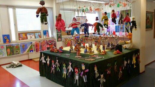 Taidekoulun näyttely 2014