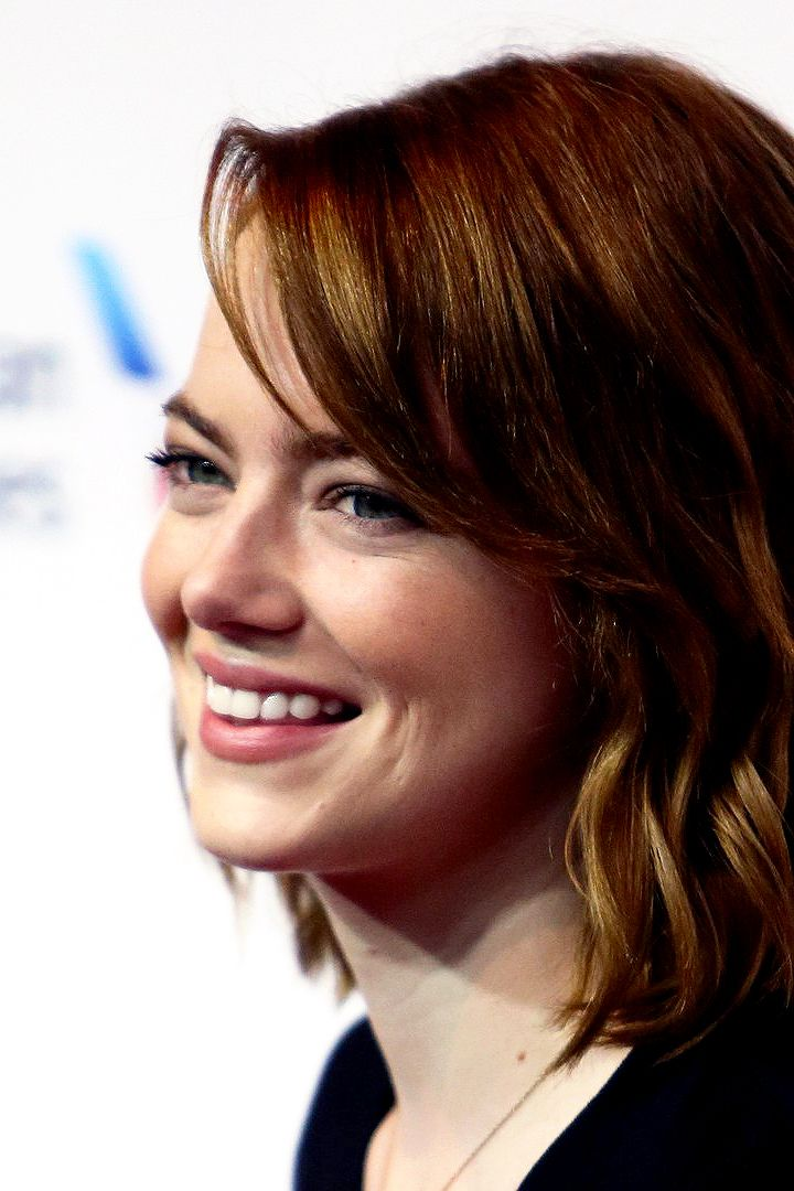 Emma Stone attends Stand Up To Cancer (SU2C), a program of the Entertainment…