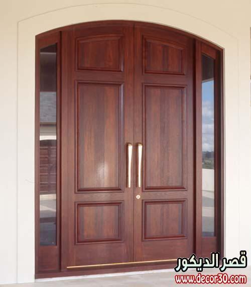 ابواب خشب كبيرة فخمة بدرفتين Wooden Doors Of Luxury Wooden Main Door Design Wooden Main Door Main Entrance Door Design