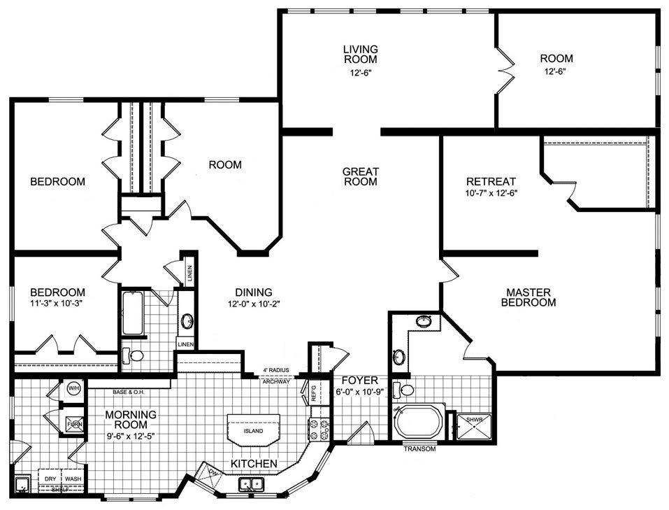 Floor Plan Floor Plans House Floor Plans Bedroom Retreat