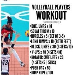 Pin By Nh On Summer Workout Volleyball Workouts Beach Volleyball Workout Volleyball Training