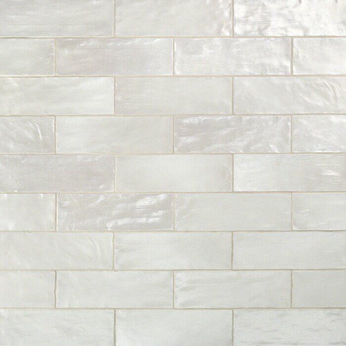 "Amagansett 2"" x 8"" Ceramic Subway Tile Ceramic wall"