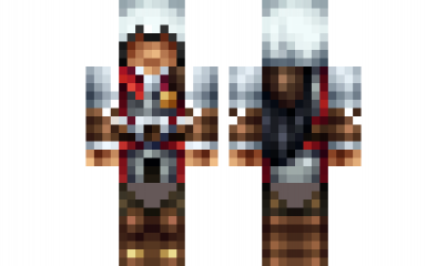 Minecraft Skin The Assassin Creed Ezio