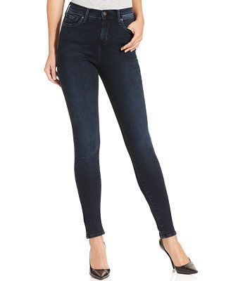 Levi's 512 Perfectly Slimming Skinny Jeans, Chalked Black Wash - Jeans -  Women - Macy's