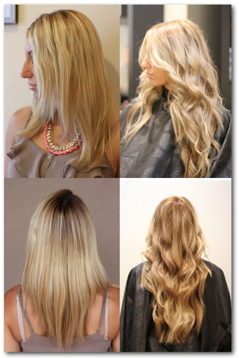 Before And After Nbr Hair Extensions Hair Extensions Pinterest