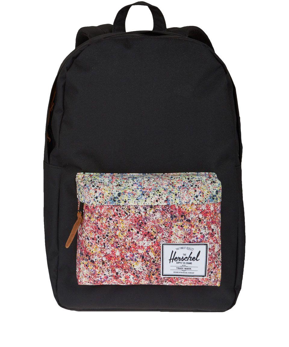 Herschel Black Heritage Liberty Print Backpack | Liberty Print Bags by Herschel | Liberty.co.uk