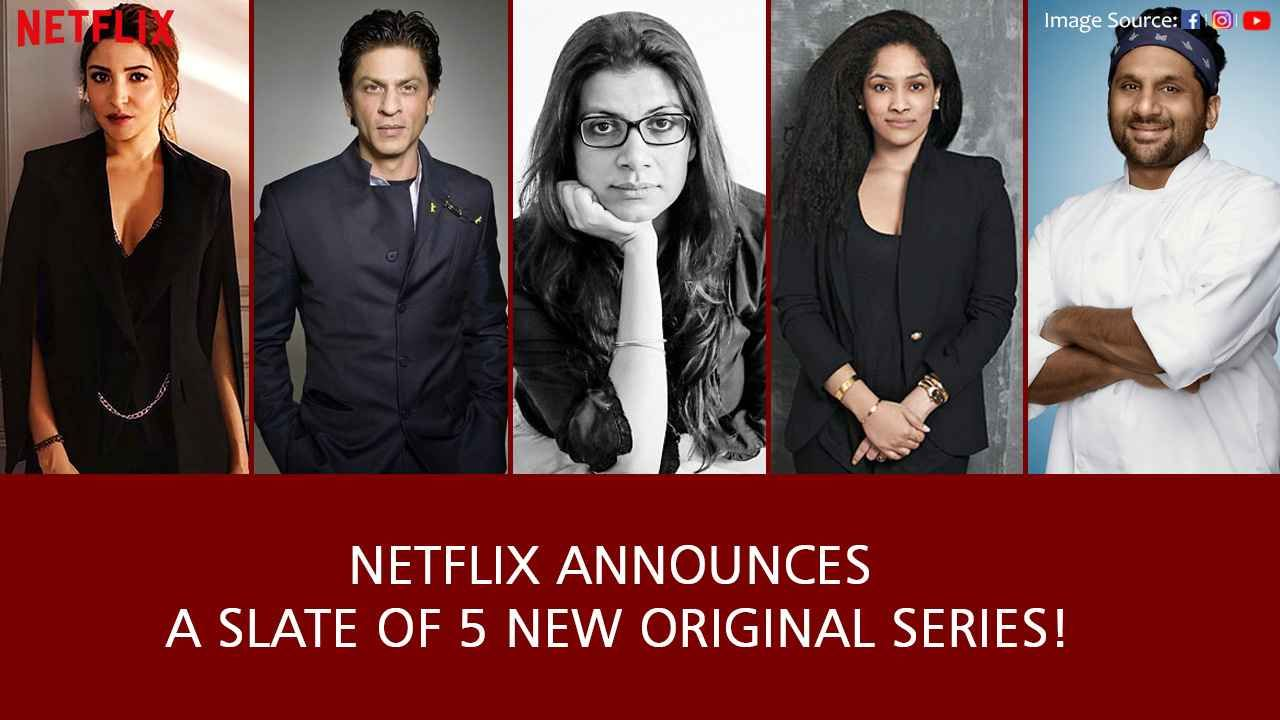 Netflix has announced a new slate of Indian orignal series