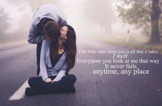 Romantic love words for girlfriend
