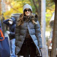 Street Style: Los abrigos de las celebrities, Sarah Jessica Parker