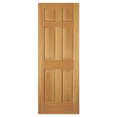 Steves Sons 30 In X 80 In 6 Panel Unfinished Red Oak Interior Door Slab G M6406nnnac99 Oak Interior Doors Doors Interior Interior Window Trim