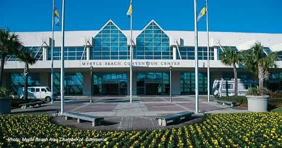 Myrtle Beach Convention Center South Carolina Sc Centre