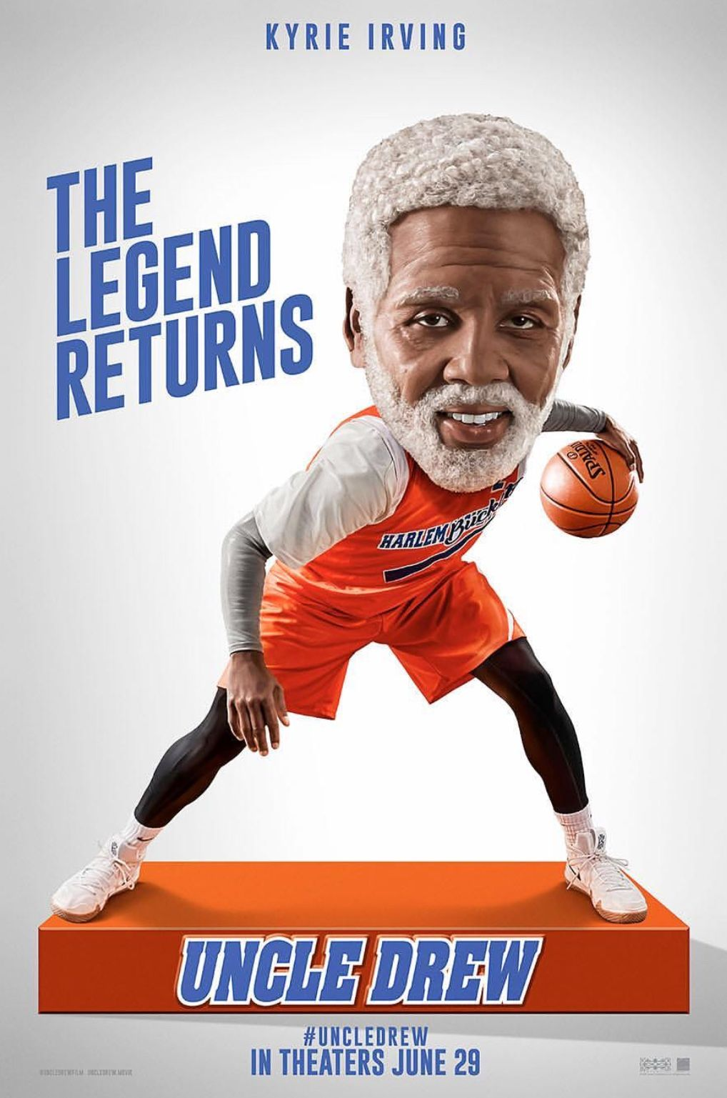 Uncle Drew aka KyrieIrving movie in theaters June 29th.