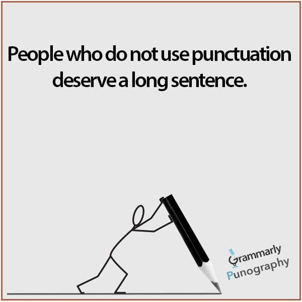 how to use correct grammar and punctuation