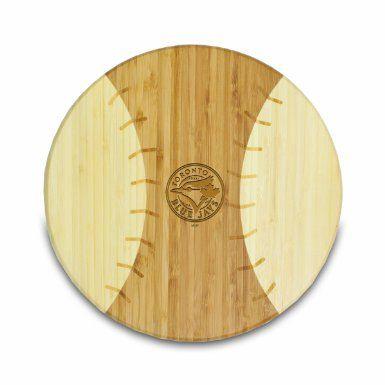 Amazon.com: MLB Toronto Blue Jays Homerun Bamboo Cutting Board with Team Logo, 12-Inch: Home & Kitchen