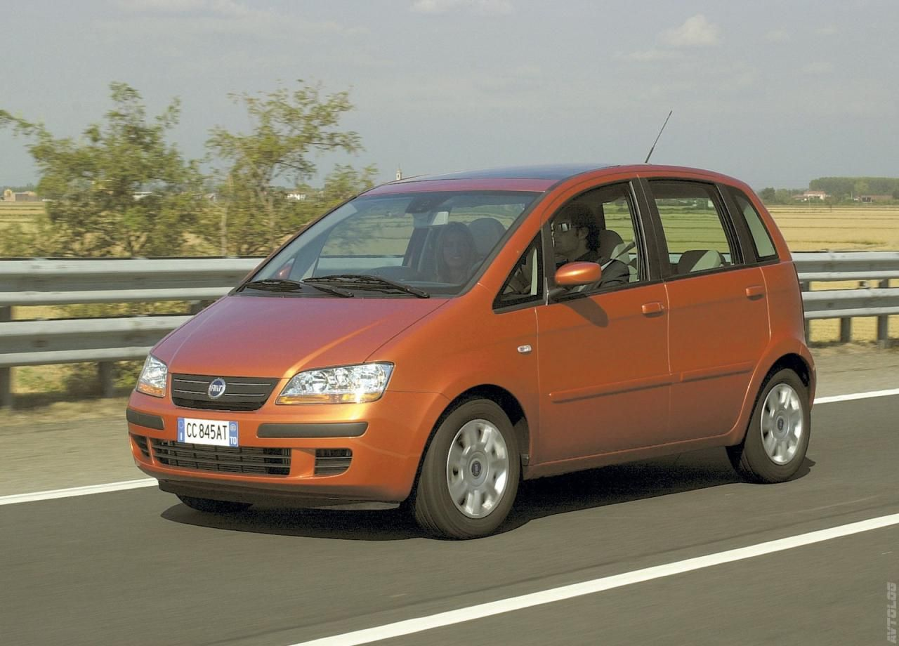 2003 Fiat Idea 1.4 16v Emotion