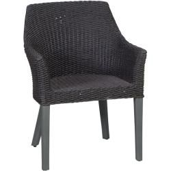 Photo of Reduced poly rattan armchair
