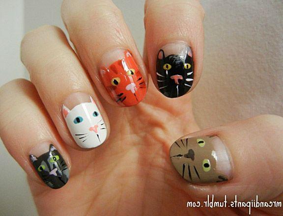 Teenage Glam Nail Art Design Animal Nail Designs Nail Art Nail Art Designs