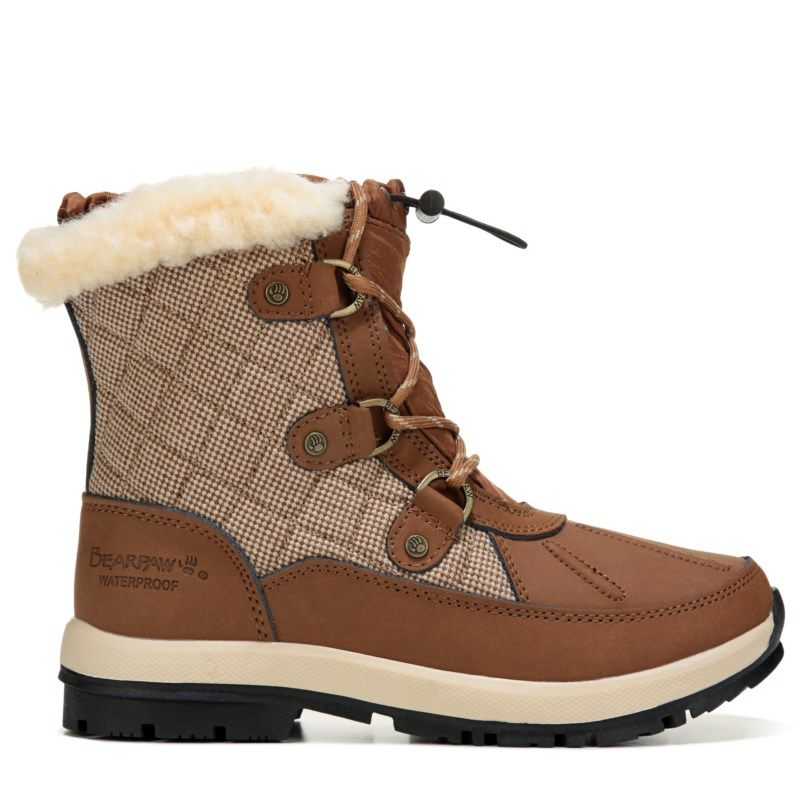 Bearpaw Women'S Bethany Waterproof Lace Up Snow Boot -