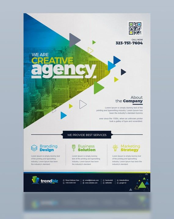 Corporate Business Flyer Template | Printable Corporate Flyer | Business Flyer/Poster | Flyer Design | Digital File, Instant Download
