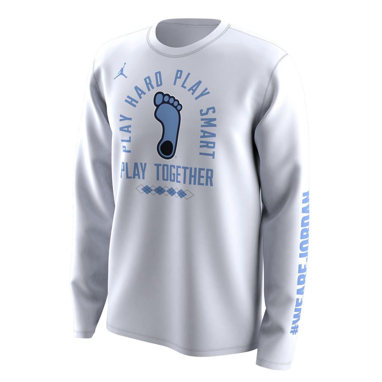 Men S Jordan Brand White North Carolina Tar Heels 2018 Ncaa Men S