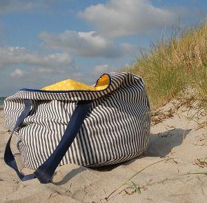 Bolso de playa pequeño