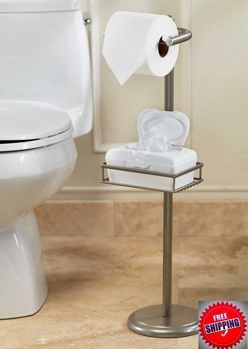 Pedestal Toilet Paper Stand Organizer Shelf Holder Bath Wet Wipes Bathroom Decor Pedestaltoiletpaperstand Toilet Paper Stand Bathroom Decor Toilet Paper