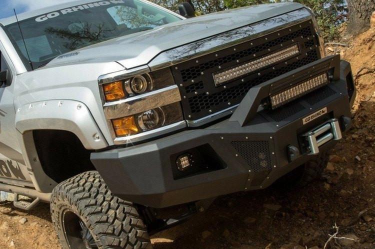Go Rhino 24128T Dodge Ram 1500 20132018 BR5 Front Bumper