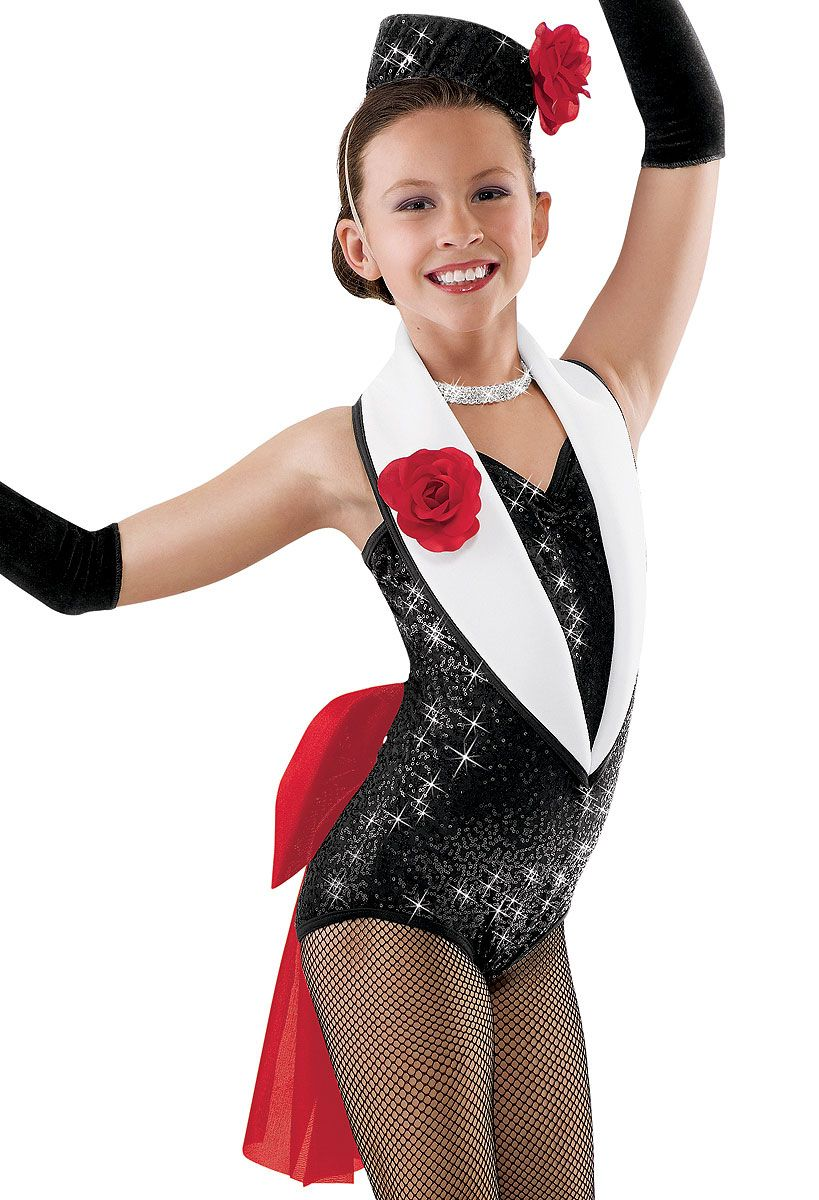f4127346d Sequin Tuxedo Leotard and Bow; Weissman Costumes | Putting on the ...