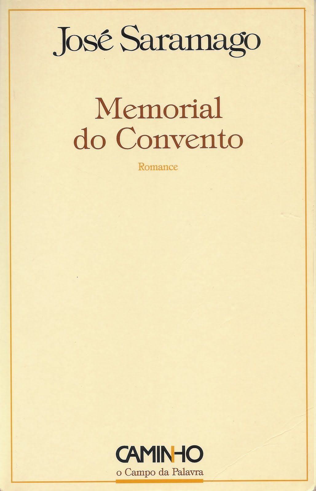 livro memorial do convento de jose saramago